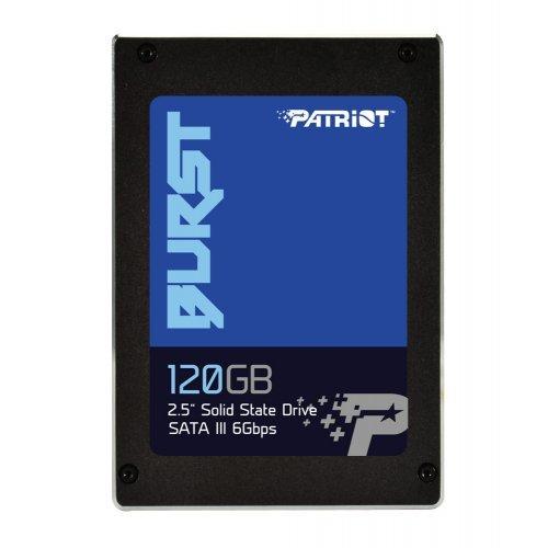 SSD Patriot 120GB, Burst, SATA3 2.5 (снимка 1)