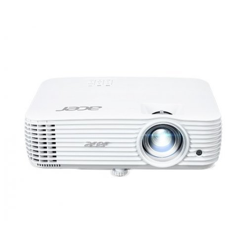 Дигитален проектор Acer Projector P1655, DLP, WUXGA (1920x1200), 1080p, 120Hz, 4000Lm, 10000:1, 3D 144Hz, Low Input Lag, HDMI, HDMI/MHL, 2xVGA in, VGA out, RCA, Audio in/out, VGA out, Speaker 10W, Bluelight Shield, DC 5V out, Bag, 2.9Kg, White (снимка 1)