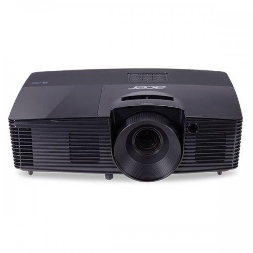 Дигитален проектор Acer Projector X118HP, DLP, SVGA (800x600), 4000 ANSI Lumens, 20000:1, 3D, HDMI, VGA, RCA, Audio in, DC Out (5V/2A, USB-A), Speaker 3W, Bluelight Shield, Sealed Optical Engine, LumiSense, 2.7kg, Black (снимка 1)