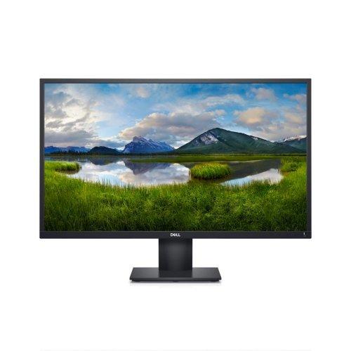 """Монитор Dell 27"""" E2720H, 5 години гаранция, Black, Wide LED Anti-Glare, IPS Panel, 5ms, 1000:1, 300 cd/m2, 1920X1080 Full HD , VGA, DisplayPort DP, Tilt (снимка 1)"""
