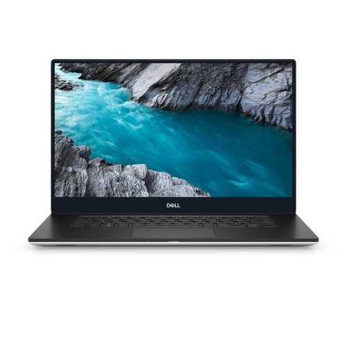 "Лаптоп Dell XPS 7590, сребрист, 15.6"" (39.62см.) 1920x1080 (Full HD) без отблясъци, Процесор Intel Core i7-9750H (6x/12x), Видео nVidia GeForce GTX 1650/ 4GB GDDR5, 8GB DDR4 RAM, 512GB SSD диск, без опт. у-во, Windows 10 Pro 64 English ОС, Клавиатура- светеща (снимка 1)"