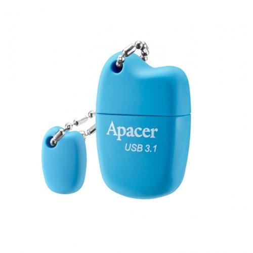 USB флаш памет 32GB Apacer AH159 Blue - USB 3.1 Gen1 (снимка 1)
