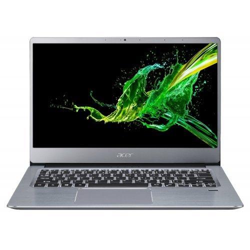 """Лаптоп Acer Swift 3 SF314-58-359R, сребрист, 14.0"""" (35.56см.) 1920x1080 (Full HD) без отблясъци, Процесор Intel Core i3-10110U (2x/4x), Видео Intel UHD, 4GB DDR4 RAM, 256GB SSD диск, без опт. у-во, Linux ОС, Клавиатура- светеща с БДС (снимка 1)"""