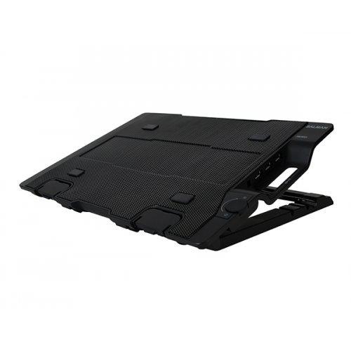 "Стенд за лаптоп Zalman Охлаждане за лаптоп Notebook Cooler 17"" Black ZM-NS2000 (снимка 1)"