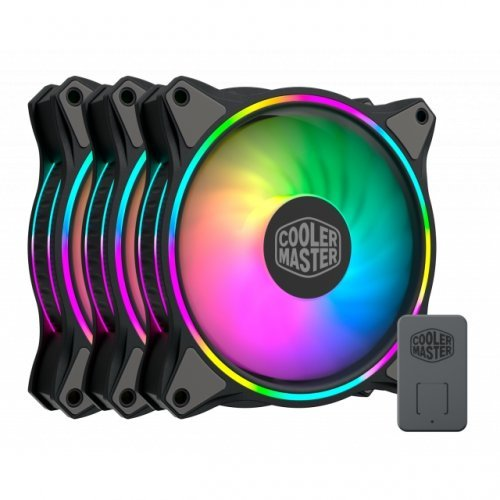 Охлаждане Cooler Master MasterFan MF120 Halo ARGB 3in1 (снимка 1)