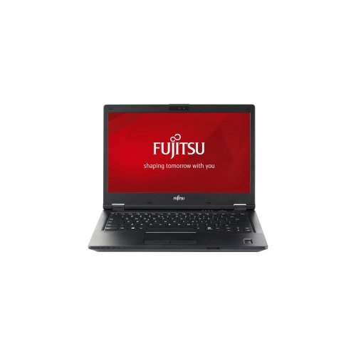 "Лаптоп Fujitsu Lifebook E449, черен, 14.0"" (35.56см.) 1920x1080 без отблясъци IPS, Процесор Intel Core i5-8250U (4x/8x), Видео Intel HD 620, 4GB DDR4 RAM, 256GB SSD диск, без опт. у-во, без ОС (снимка 1)"