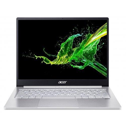 """Лаптоп Acer Swift 3 SF313-52-739M, сив, 13.5"""" (34.29см.) 2256x1504 лъскав, Процесор Intel Core i7-1065G7 (4x/8x), Видео Intel Iris Plus 940 Gen11, 8GB DDR4 RAM, 1TB SSD диск, без опт. у-во, Windows 10 ОС, Клавиатура- с БДС (снимка 1)"""