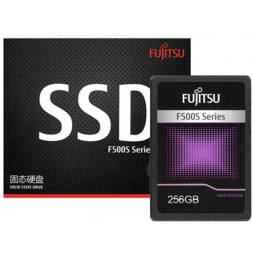 SSD Fujitsu 256 GB SATA III 256GB SSD SATA III, 6 Gb/s, 2.5-inch (снимка 1)