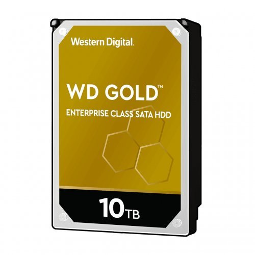 Твърд диск Western Digital 10TB SATAIII Gold 7200rpm 256MB for servers (снимка 1)