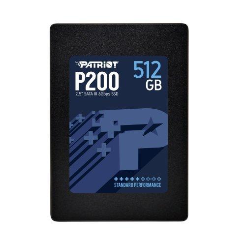 SSD Patriot 512GB P200 SATA3 2.5 (снимка 1)