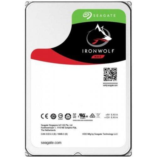 Твърд диск Seagate 10TB IronWolf NAS, ST10000VN0008, SATA3, 256MB Cache, Rotational Vibration Sensors (снимка 1)