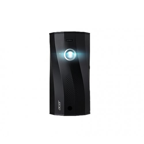 Дигитален проектор Acer Projector C250i, DLP, LED, FHD (1920x1080), 300 Lumens, 5000:1, HDMI, USB, USB (Type A, 5V/0.5A), SD (Micro, SDHC), PC Audio (Stereo mini jack), Built in battery, Bluetooth speaker, rotatable projection, 775g, Black (снимка 1)