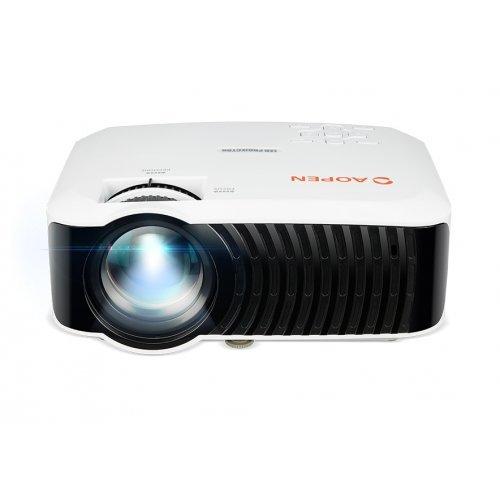 Дигитален проектор AOPEN QH10, LCD, 720p (1280x720), 200Lm, 1000:1, HDMI, USB, Wifi, Wireless dongle included, 1.2Kg (снимка 1)