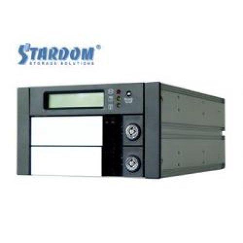 """NAS устройство Raidsonic SR2600-2S-S2B RAID система за вътрешен монтаж, 2х 3.5"""" гнезда, SATA/IDE, RAID 0, 1 (снимка 1)"""
