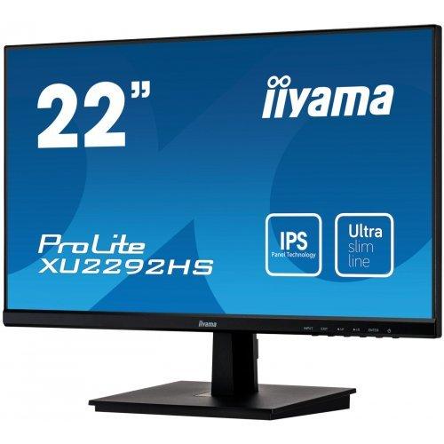 "Монитор IIYAMA 21.5"" XU2292HS-B1 (снимка 1)"