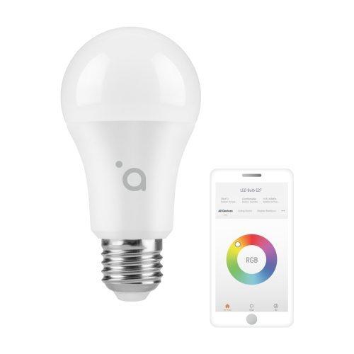 Acme SH4107, RGB LED light, E27, 10W/ 220-240V, 2700–6500K, 800 lm, 25000h, A60, A+, 881057 (снимка 1)