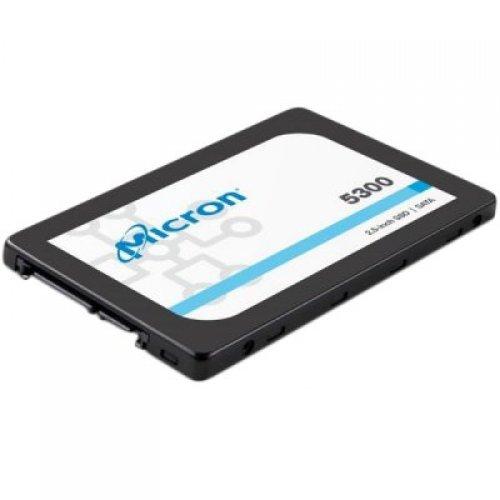 "SSD MICRON 480GB  5300 PRO Enterprise SSD, 2.5"" 7mm, SATA 6 Gb/s, Read/Write: 540 / 410 MB/s, Random Read/Write IOPS 85K/36K (снимка 1)"