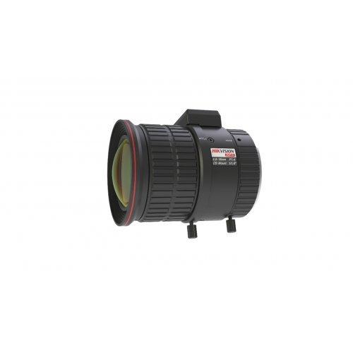 """Обектив за камера за видеонабл-е HikVision HV3816D-8MPIR; 8-Мегапикселов варифокален обектив (Mega-pixel Auto-Iris Lens), автоматична бленда, 3.8~16.0 mm, F1.65, 1/1.8"""", вградена IR корекция, стъклена асферична леща (снимка 1)"""