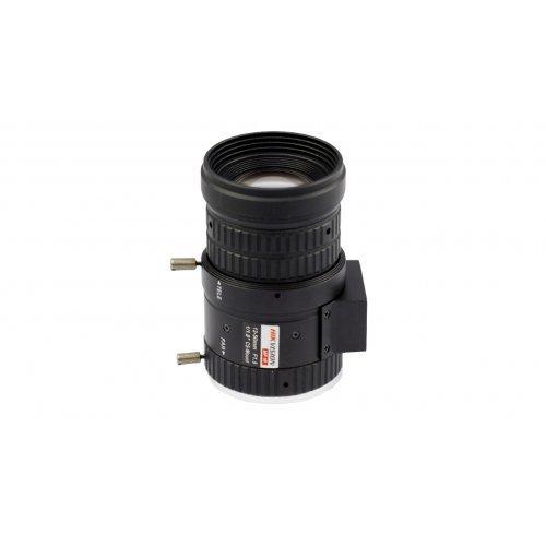 "Обектив за камера за видеонабл-е HikVision HV1250D.IR; 6-Мегапикселов варифокален обектив, автоматична бленда, 12~50.0mm, F1.5, 1/1.8"", вградена IR корекция (снимка 1)"