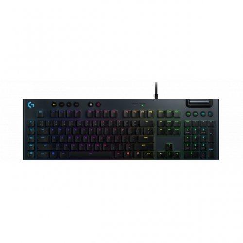 Клавиатура Logitech, G815 Lightsync RGB, Tactile суичове, Геймърска механична клавиатура  (снимка 1)