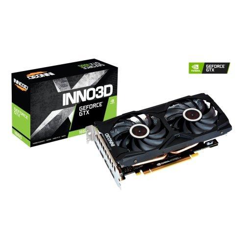 Видео карта nVidia Inno3D GeForce GTX 1660 Super gaming OC X2 RGB (снимка 1)