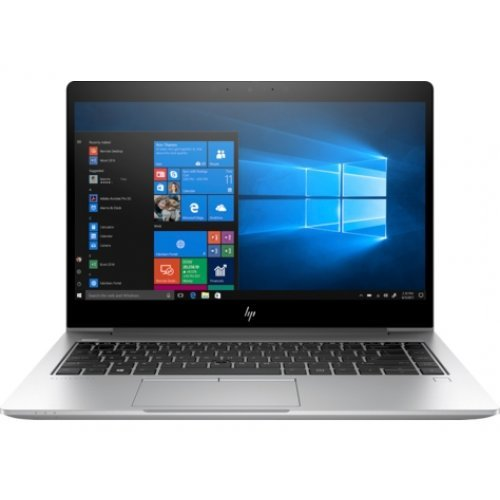 "Лаптоп HP EliteBook 840 G6, сребрист, 14.0"" (35.56см.) 1920x1080 без отблясъци UWVA, Процесор Intel Core i7-8565U (4x/8x), Видео Intel UHD 620, 32GB DDR4 RAM, 1TB SSD диск, без опт. у-во, Windows 10 Pro 64 ОС (снимка 1)"