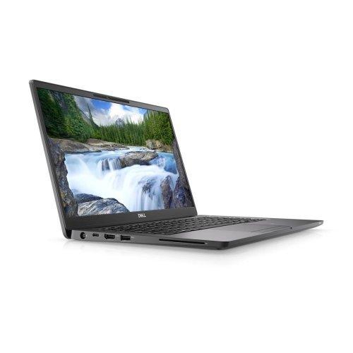 "Лаптоп Dell Latitude 14 7400, черен, 14.0"" (35.56см.) 1920x1080 без отблясъци, Процесор Intel Core i5-8265U (4x/8x), Видео Intel UHD 620, 8GB DDR4 RAM, 256GB SSD диск, без опт. у-во, Windows 10 Pro 64 English ОС, Клавиатура- светеща (снимка 1)"