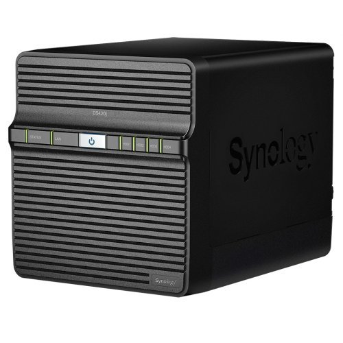 NAS устройство Synology DS420J 4-bay NAS Server Home and Small office  (снимка 1)