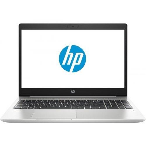"Лаптоп HP ProBook 450 G7, сребрист, 15.6"" (39.62см.) 1920x1080 без отблясъци UWVA IPS, Процесор Intel Core i5-10210U (4x/8x), Видео nVidia GeForce MX130/ 2GB DDR5, 8GB DDR4 RAM, 256GB SSD диск, без опт. у-во, DOS ОС (снимка 1)"