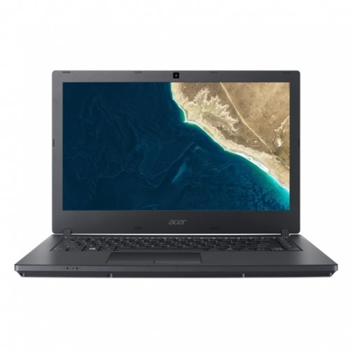 "Лаптоп Acer TravelMate P2 P2410-M-P480, черен, 14.0"" (35.56см.) 1366x768 (HD), Процесор Intel Pentium 4415U (2x/4x), Видео Intel HD 610, 4GB DDR4 RAM, 128GB SSD диск, без опт. у-во, Linpus Linux ОС, Клавиатура- светеща (снимка 1)"