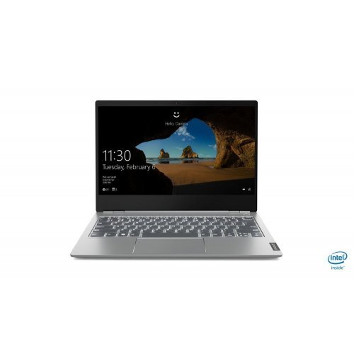 "Лаптоп Lenovo ThinkBook 13s, сив, 13.3"" (33.78см.) 1920x1080 без отблясъци IPS, Процесор Intel Core i5-10210U (4x/8x), Видео Intel UHD, 8GB DDR4 RAM, 512GB SSD диск, без опт. у-во, Windows 10 Pro 64 ОС (снимка 1)"