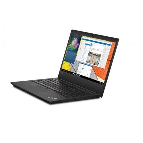 """Лаптоп Lenovo ThinkPad Edge E495, черен, 14.0"""" (35.56см.) 1920x1080 без отблясъци IPS, Процесор AMD Ryzen 7 3700U (4x/8x), Видео AMD Radeon Vega 10, 8GB DDR4 RAM, 256GB SSD диск, без опт. у-во, Windows 10 Pro 64 ОС (снимка 1)"""