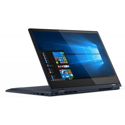 """Лаптоп Lenovo IdeaPad Yoga C340-14IML, 2 в 1, син, 14.0"""" (35.56см.) 1920x1080 лъскав IPS тъч, Процесор Intel Core i5-10210U (4x/8x), Видео nVidia GeForce MX230/ 2GB GDDR5, 8GB DDR4 RAM, 512GB SSD диск, без опт. у-во, Windows 10 64 ОС, Клавиатура- светеща с БДС (снимка 1)"""