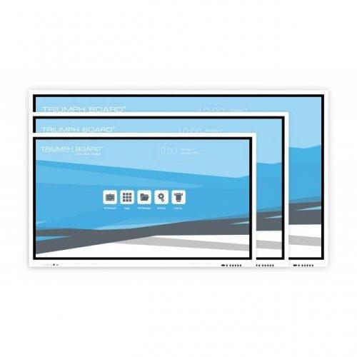 "интерактивен дисплей TRIUMPH BOARD 75"" INTERACTIVE FLAT PANEL, Интерактивен мулти-тъч дисплей (снимка 1)"