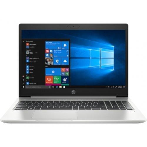 """Лаптоп HP ProBook 450 G7, сребрист, 15.6"""" (39.62см.) 1920x1080 без отблясъци UWVA IPS, Процесор Intel Core i5-10210U (4x/8x), Видео nVidia GeForce MX130/ 2GB DDR5, 16GB DDR4 RAM, 1TB HDD диск, без опт. у-во, DOS ОС (снимка 1)"""