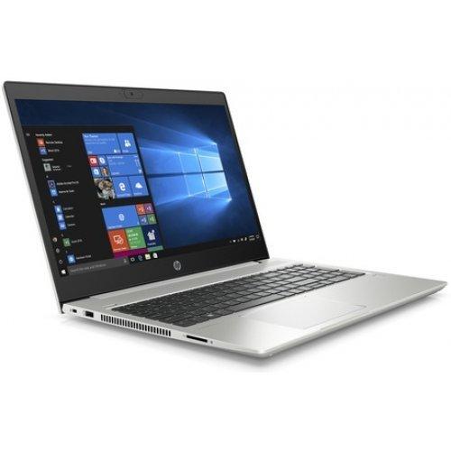"Лаптоп HP ProBook 450 G7, сребрист, 15.6"" (39.62см.) 1920x1080 без отблясъци, Процесор Intel Core i5-10210U (4x/8x), Видео nVidia GeForce MX250/ 2GB GDDR5, 8GB DDR4 RAM, 512GB SSD диск, без опт. у-во, DOS ОС (снимка 1)"