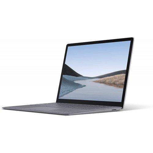 "Лаптоп Microsoft Surface Laptop3, platinum with alcantara® material palm rest, 13.5"" (34.29см.) 2256x1504 без отблясъци тъч, Процесор Intel Core i5-1035G7 (4x/8x), Видео Intel Iris Plus Gen 11, 8GB DDR4 RAM, 256GB SSD диск, без опт. у-во, Windows 10 ОС (снимка 1)"