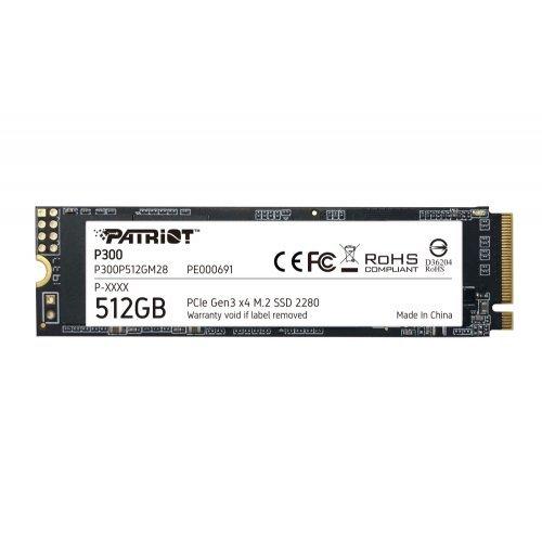 SSD Patriot 512GB P300 M.2 2280 PCIE (снимка 1)