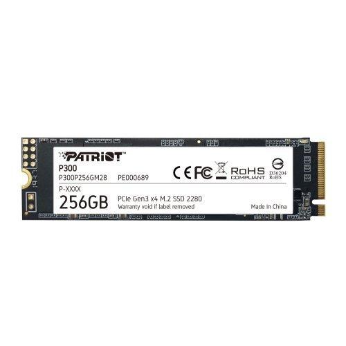 SSD Patriot 256GB P300 M.2 2280 PCIE (снимка 1)
