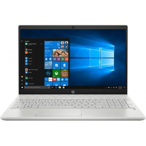 "Лаптоп HP Pavilion 15-cs3027nu, сив, 15.6"" (39.62см.) 1920x1080 без отблясъци SVA, Процесор Intel Core i7-1065G7 (4x/8x), Видео nVidia GeForce MX250/ 2GB DDR5, 8GB DDR4 RAM, 512GB SSD диск, без опт. у-во, DOS ОС (снимка 1)"