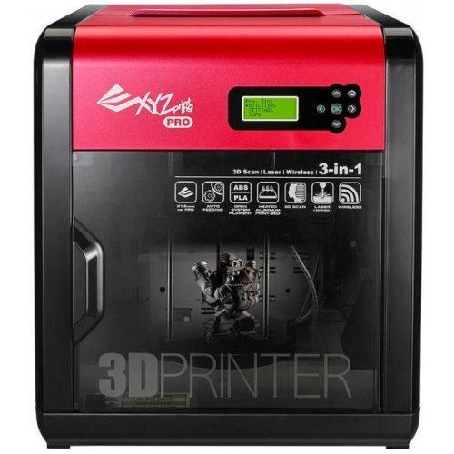 Принтер XYZprinting Da Vinci F1.0 Professional 3-in-1 MR USB/ WiFi, 3D Принтер и скенер, опция за лазерно гравиране (снимка 1)