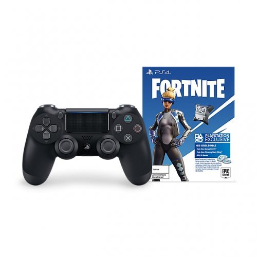 Sony DualShock 4 Jet Black - Fortnite Neo Versa Bundle (снимка 1)
