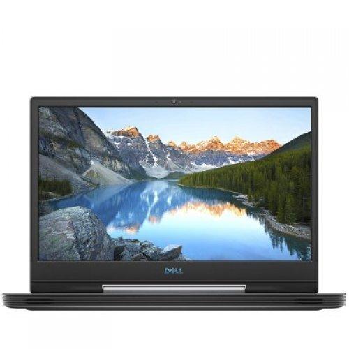 """Лаптоп Dell G5 5590, черен, 15.6"""" (39.62см.) 1920x1080 без отблясъци IPS, Процесор Intel Core i7-9750H (6x/12x), Видео nVidia GeForce RTX 2060/ 6GB GDDR6, 16GB DDR4 RAM, 512GB SSD диск, без опт. у-во, Linux Ubuntu ОС, Клавиатура- светеща (снимка 1)"""