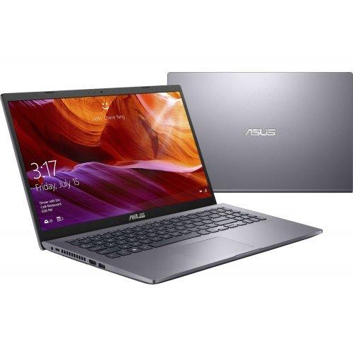 "Лаптоп Asus X509JA-WB сив, 15.6"" (39.62см.) 1920x1080 без отблясъци, Процесор Intel Core i3-1005G1 (2x/4x), Видео интегрирана, 8GB DDR4 RAM, 256GB SSD диск, без опт. у-во, Linux + Подарък раница Asus (снимка 1)"