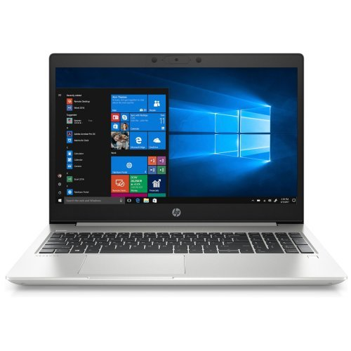 "Лаптоп HP ProBook 450 G7, сребрист, 15.6"" (39.62см.) 1920x1080 без отблясъци UWVA IPS, Процесор Intel Core i7-10510U (4x/8x), Видео Intel UHD 620, 8GB DDR4 RAM, 512GB SSD диск, без опт. у-во, DOS ОС (снимка 1)"