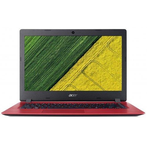 """Лаптоп Acer Aspire 1 A114-31-C6RC, червен, 14.0"""" (35.56см.) 1366x768 (HD) без отблясъци, Процесор Intel Celeron Dual-Core N3350, Видео Intel HD 500 Gen 9, 4GB DDR3L RAM, 64GB eMMC диск, без опт. у-во, Endless Linux ОС, Клавиатура- с БДС (снимка 1)"""