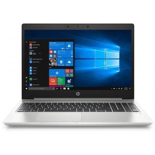 """Лаптоп HP ProBook 450 G7, сребрист, 15.6"""" (39.62см.) 1920x1080 без отблясъци, Процесор Intel Core i5-10210U (4x/8x), Видео nVidia GeForce MX250/ 2GB GDDR5, 8GB DDR4 RAM, 1TB HDD диск, без опт. у-во, DOS ОС, Клавиатура- светеща с БДС (снимка 1)"""