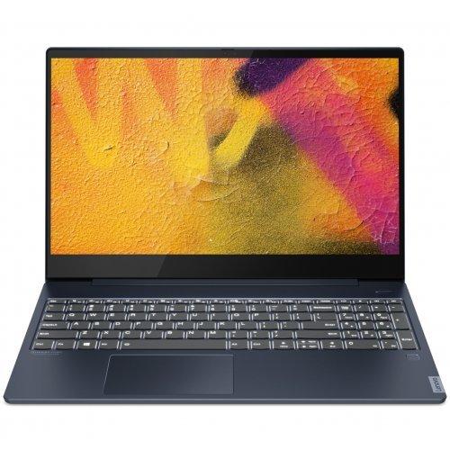 "Лаптоп Lenovo IdeaPad UltraSlim S540, син, 15.6"" (39.62см.) 1920x1080 без отблясъци IPS, Процесор Intel Core i5-10210U (4x/8x), Видео nVidia GeForce MX250, 8GB DDR4 RAM, 512GB SSD диск, без опт. у-во, FreeDOS ОС (снимка 1)"