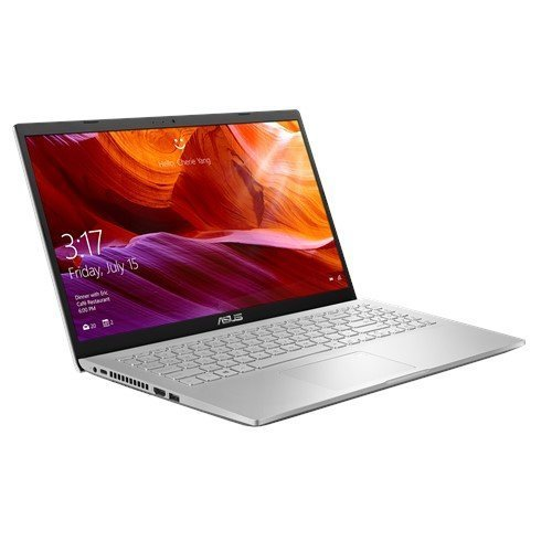 "Лаптоп Asus 15 X509JB-WB701, сребрист, 15.6"" (39.62см.) 1920x1080 без отблясъци, Процесор Intel Core i7-1065G7 (4x/8x), Видео nVidia GeForce MX110/ 2GB GDDR5, 8GB DDR4 RAM, 256GB SSD диск, без опт. у-во, без ОС (снимка 1)"