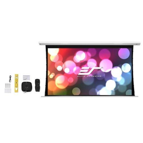 """Екран за проектор Elite Screen Electric125XHT Spectrum Tension, 125"""" (16:9), 276.9 x 155.7 cm, White (снимка 1)"""